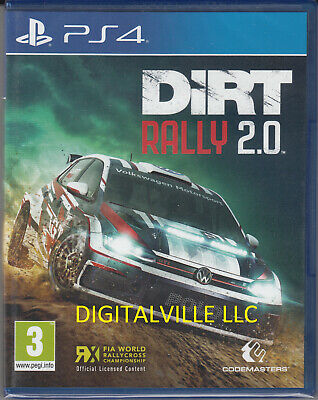 Dirt Rally 2.0 PS4 PlayStation 4 Brand new Factory Sealed
