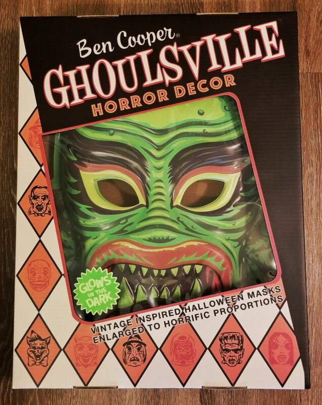 Ghousville Fish Face VacTastic Been Cooper Horror Creature From The Black Lagoon