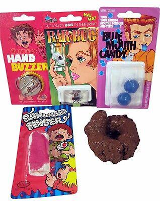 Practical Joke Kit 1   Hand Buzzer Fake Poop Gag Prank Trick