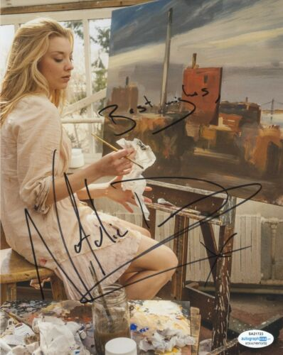 Natalie Dormer Sexy Autographed Signed 8x10 Photo ACOA 2020-31