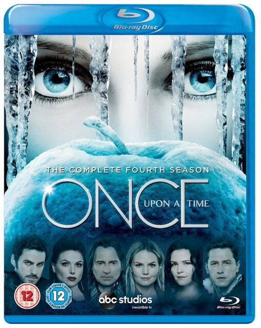 Once Upon a Time Complete Series 4 Blu Ray All Episodes Fourth Season UK Rel NEW