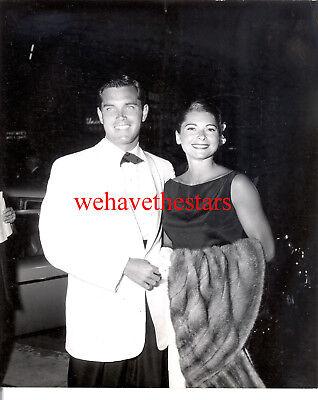 Vintage Jeffrey Hunter & Wife AT PREMIERE OF SOUTH PACIFIC 59 Publicity Portrait