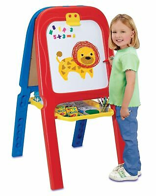 3 in 1 Double Easel Kid Drawing Art Activity Erase with Magnetic -