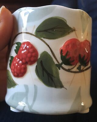 Yankee Candle Votive Candle Holder Strawberry Berry Raspberry Tea Light 1054718