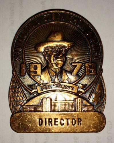 1978 San Antonio Stock Show & Rodeo Pin: Director
