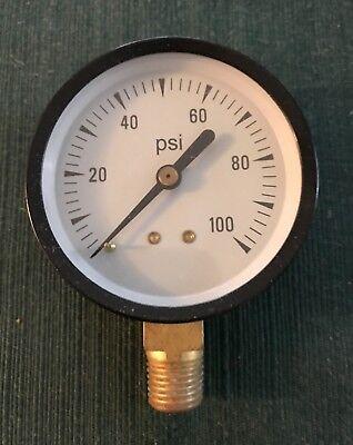Pressure Gauge 1/4