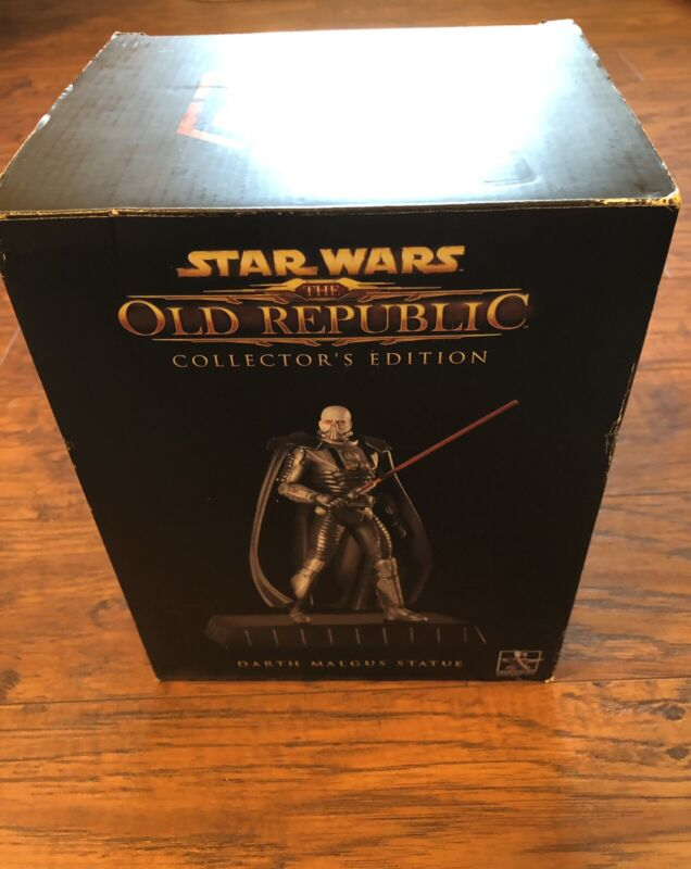 Star Wars The Old Republic Darth Malgus Statue Gentle Giant Collectable Statue