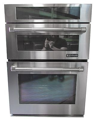 "Jenn-Air JMW3430WP 30"" Stainless Combination Microwave Wall Oven"