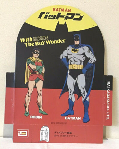 BATMAN and ROBIN cardboard standee D.C.COMICS INC.