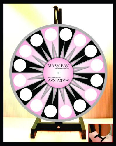 """Prize Wheel 18"""" Spinning Tabletop Portable Mary Kay LIMITED TIME AT THIS PRICE!"""
