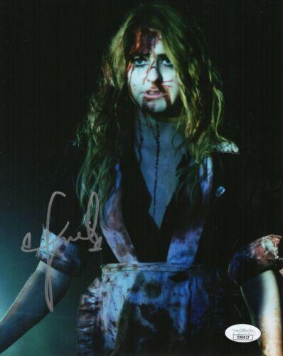 "Scout Taylor Compton Autograph Signed 8x10 Photo - Halloween ""Laurie"" (JSA COA)"
