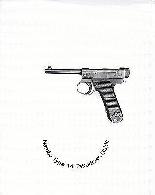 Nambu Type 14  Takedown Guide On cd