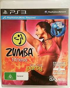 Playstation 3/PS3: Zumba Bundle Pack - complete in box, including Melbourne CBD Melbourne City Preview