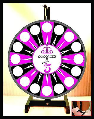 Prize Wheel 18 Spinning Tabletop Portable Paparazzi Everything 5 Wheel