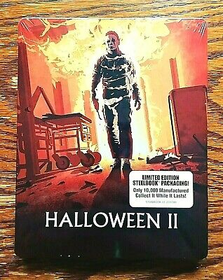 Halloween II 2 Steelbook Blu-ray NEW Sealed Limited Edition 2 Disc Scream (Halloween 2 Blu Ray Special Edition)