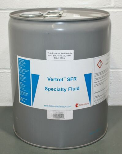 Chemours Vertrel SFR Specialty Fluid, Flux Remover, Solvent, 5 gal, Replaces nPB