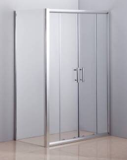 1200 X 700 Sliding Door Safety Glass Shower Screen By Della Franc