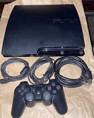 Sony Playstation 3 160GB (ps3) Slim with Dual Shock Controller & 1 Game!