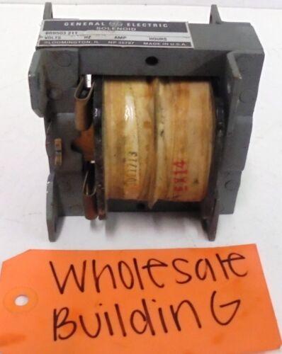 GENERAL ELECTRIC, SOLENOID, EAB499, 120 VOLTS, 60HZ