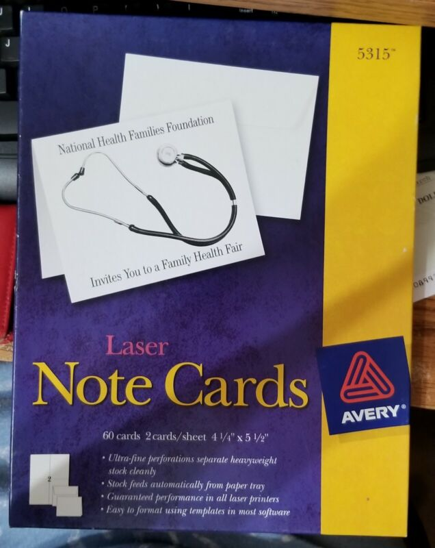 Avery Note Cards #5315