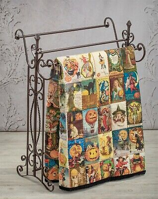 Victorian Trading Co Victorian Greeting Halloween Quilt