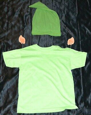 Link From Zelda Shirt, Ears & Hat Halloween Costume Kids Boys Size: 8-10 M Youth - Link From Zelda Halloween Costumes