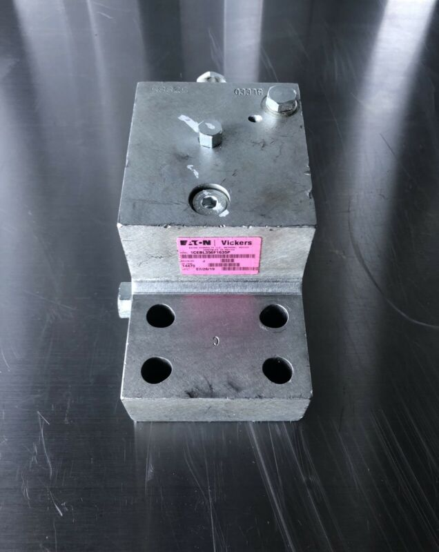 Eaton Vickers 1CEBL356F1635P Hydraulic Valve Block NEW!!! FREE SHIPPING!!!