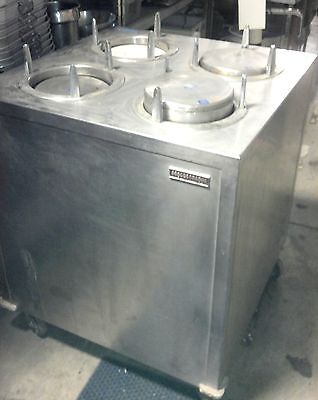 9 Plate Warmer Cabinet Dish Storage Lowerator Cart Portable Stainless Lakeside