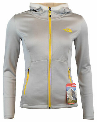 The North Face Women's Agave Hooded Fleece Hoodie Jacket - XS S M L - Gray