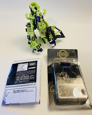 Transformers RotF Exclusive GREEN Devastator + CrazyDevy Upgrades Complete