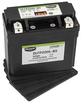 Lightweight Lithium Battery BikeMaster DLFP20HL-BS Replaces YTX20HL-BS - MC