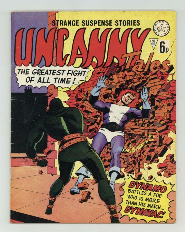 Uncanny Tales #91 VG 4.0 1970