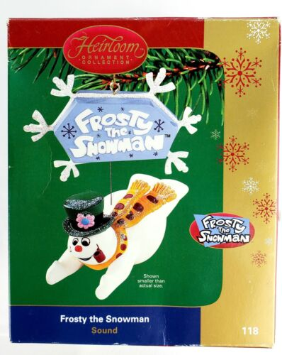 Carlton Cards Frosty the Snowman Christmas Ornament