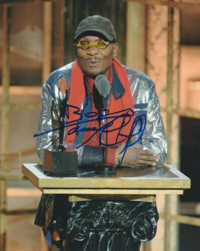JIMMY CLIFF SIGNED  8X10 PHOTO W/PROOF 2