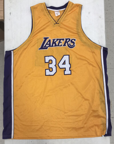 Los Angeles Lakers Shaquille O Neal 34 Jersey SIZE 60  - $29.99