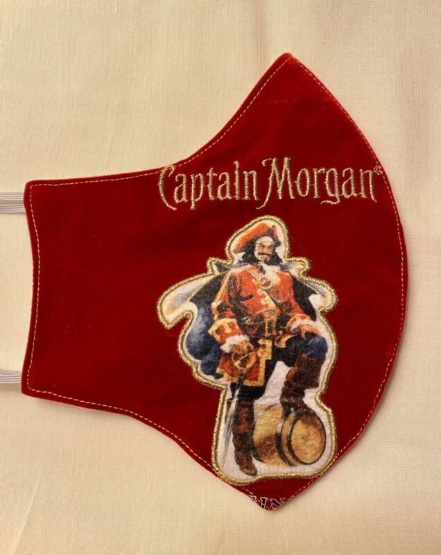 Red Velvet Captain Morgan Handmade Mask