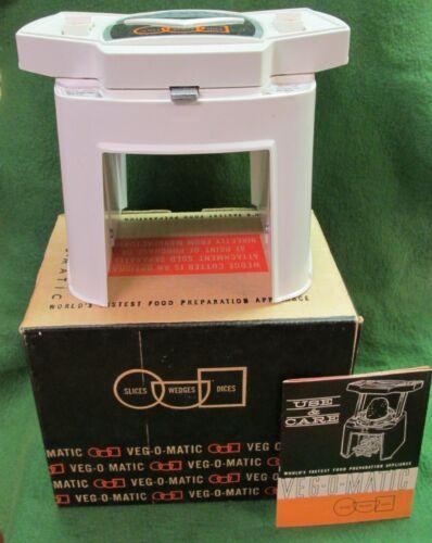 Veg-O-Matic - Food Preparer / Chopper / Slicer / Dicer w/ Original Box