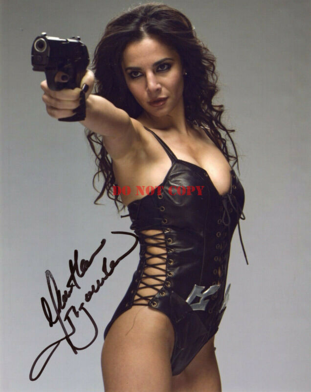 MARTHA HIGAREDA Signed Altered Carbon 8x10 Photo