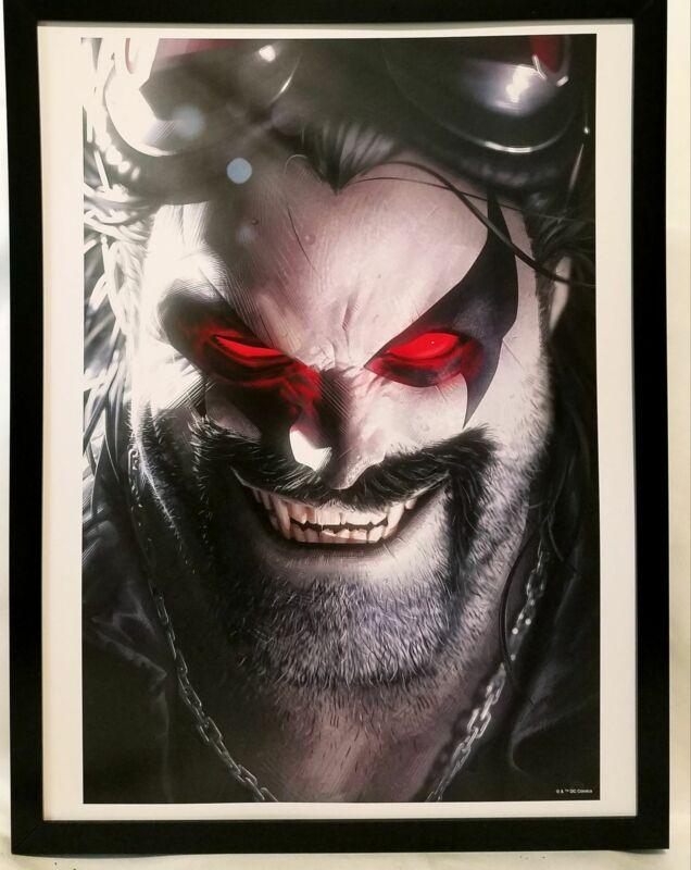 Lobo by Alex Garner FRAMED 12x16 Art Print DC Comics Poster