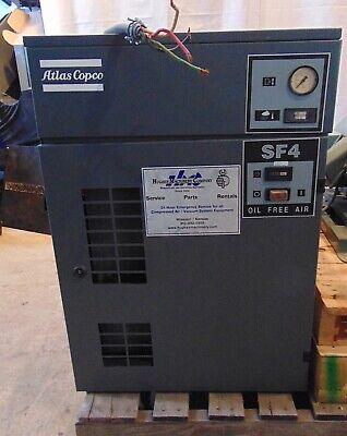 Atlas Copco Sf4 Oil Free Scroll Air Compressor 3ph 4hp 14.2cfm 116psi S5000