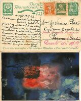 160 - Svizzera - Cartolina Pro Ciechi Da Arvigo A Quarto Dei Mille, 16/07/1923 -  - ebay.it
