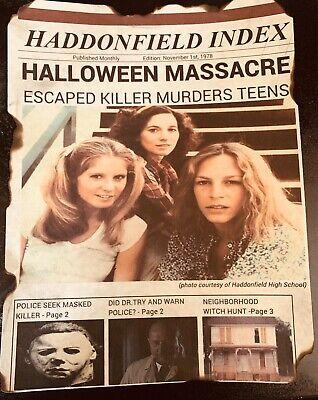 Halloween Michael Myers 1978 Movie Print