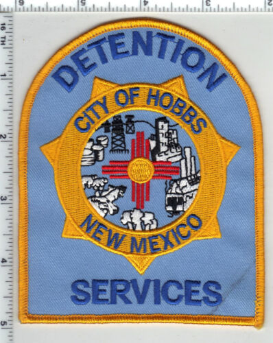 City of Hobbs (New Mexico) 1st Issue Detention Services Shoulder Patch
