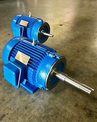 Aurora Motors Close Coupled Pump Motor 215jm 208-230460v 1800rpm Tefc Pe 10hp