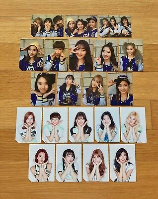 TWICE 2nd Mini Album Page Two Official Photocards 21pcs Full Set