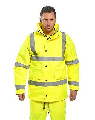 Portwest Us460 Hi-vis Waterproof Traffic Jacket Ansi