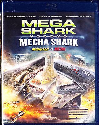 Mega Shark Vs Mecha Shark [Blu-ray] - Shark Sci Fi Movies