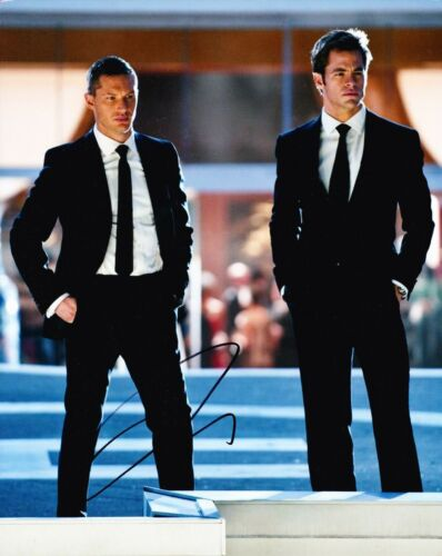 Tom Hardy Signed 10X8 Photo This Means War Genuine SIGNATURE AFTAL COA (5660)