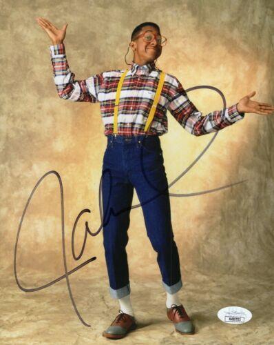 "Jaleel White Autograph Signed 8x10 Photo - Family Matters ""Urkel"" (JSA COA)"