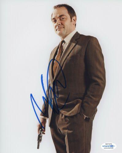 Mark Sheppard Doctor Who Autographed Signed 8x10 Photo COA  ACOA